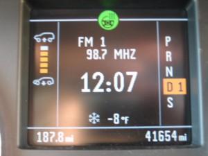 Temperature 12/15/2008