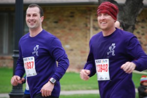 Joe and Dan Marathon 2009